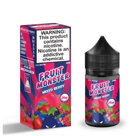 Fruit Monster Mixed Berry Salt 30mL - Ohm City Vapes