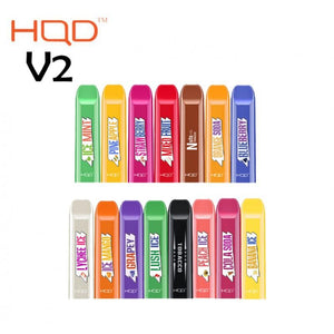 HQD Cuvie V2 Disposable Vape Device - 3PK - Ohm City Vapes