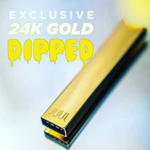 Limited Edition 24k Gold Dipped JUUL - Ohm City Vapes