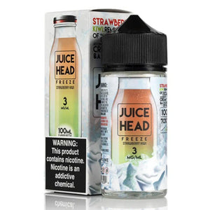 Juice Head Freeze Strawberry Kiwi 100mL - Ohm City Vapes