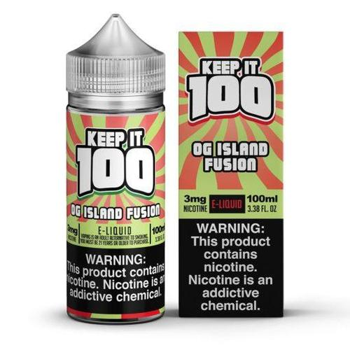 Keep it 100 OG Island Fusion (Kiberry Killa) 100mL