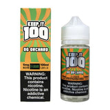 Keep it 100 OG Orchard (Peachy Punch) 100mL - Ohm City Vapes
