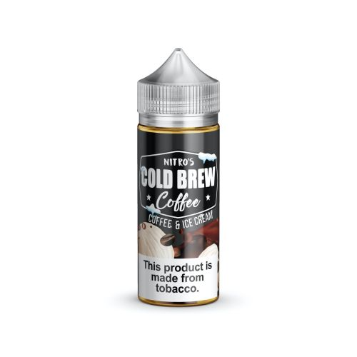 Nitro's Cold Brew Coffee Coffee and Ice Cream 100mL | Ohm City Vapes