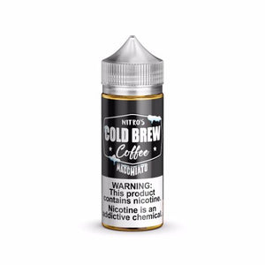 Nitro's Cold Brew Coffee Macchiato 100mL | Ohm City Vapes