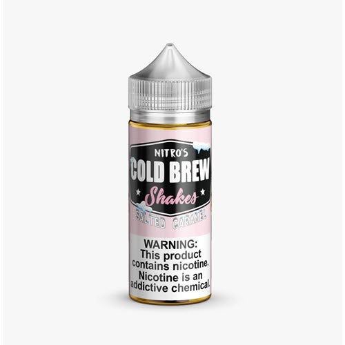Nitro's Cold Brew Shakes Salted Caramel 100mL | Ohm City Vapes
