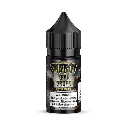 SadBoy Tear Drops Butter Cookie Salt 30mL - Ohm City Vapes