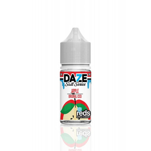 REDS APPLE ICED - 7 DAZE SALT - 30ML - Ohm City Vapes