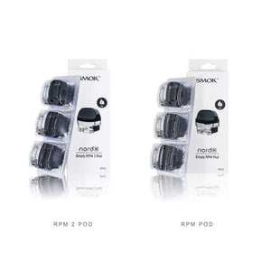 SMOK NORD X Empty RPM Replacement Pod Cartridge - 3PK - Ohm City Vapes
