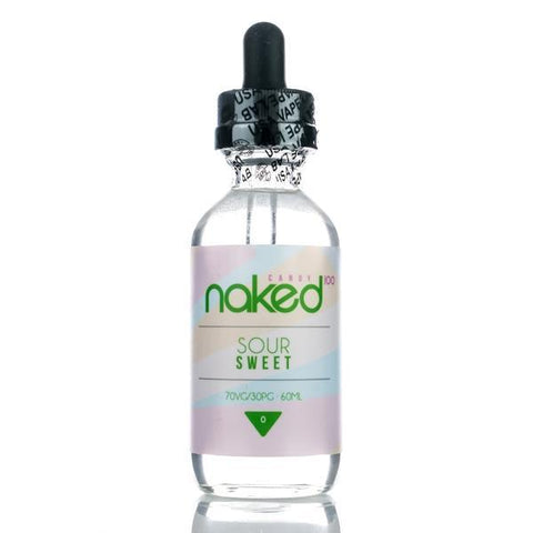 Sour Sweet by Naked 100 E-liquid - 60ml - The King of Vape