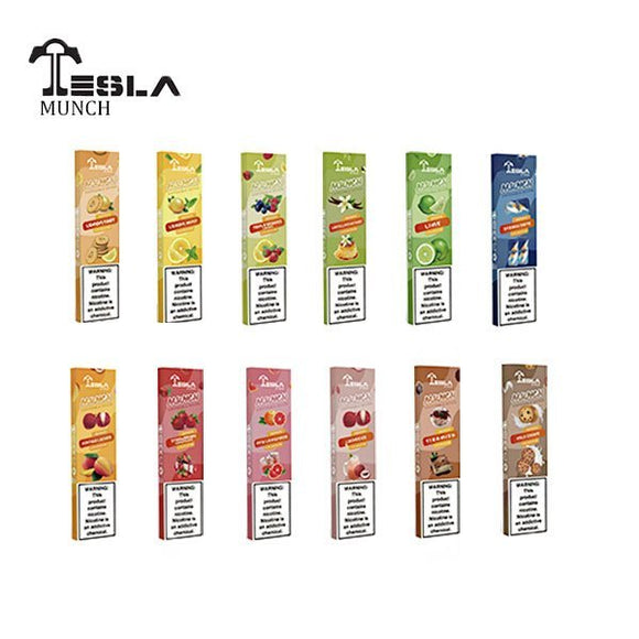 Tesla Munch Disposable Vape Device - 10PK - Ohm City Vapes