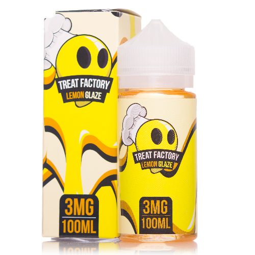 Lemon Glaze - Treat Factory E Liquid 100ml - Ohm City Vapes
