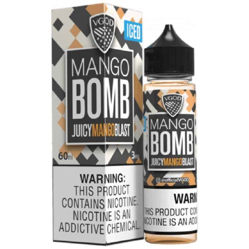 VGOD ICED Mango BOMB 60mL - Ohm City Vapes