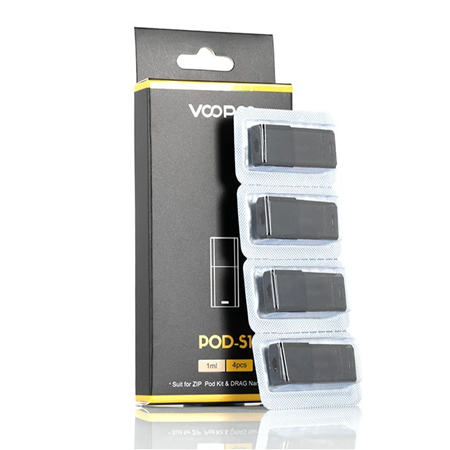 VooPoo Drag Nano S1 Replacement Pod Cartridge - 4PK - Ohm City Vapes