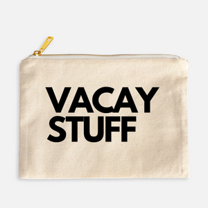 VACAY STUFF COSMETIC BAG - Anchor & Nest