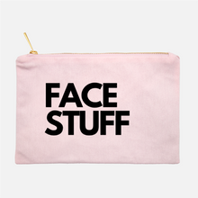 Load image into Gallery viewer, FACE STUFF COSMETIC BAG - Anchor & Nest