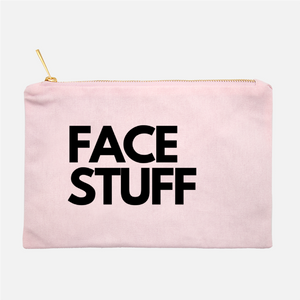 FACE STUFF COSMETIC BAG - Anchor & Nest