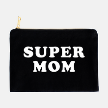 Load image into Gallery viewer, SUPER MOM COSMETIC BAG - Anchor & Nest