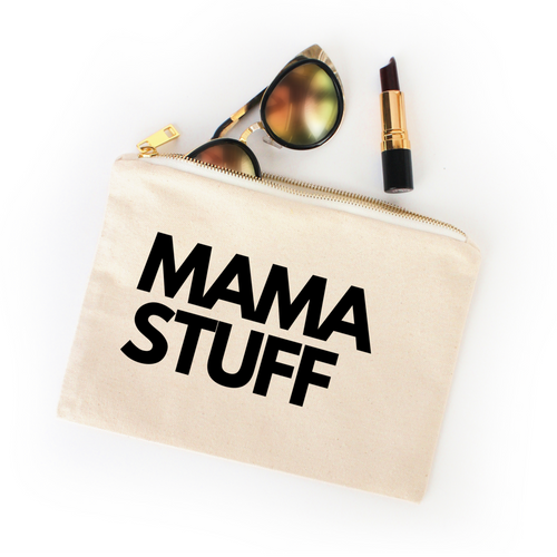 MAMA STUFF COSMETIC BAG - Anchor & Nest