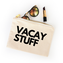 Load image into Gallery viewer, VACAY STUFF COSMETIC BAG - Anchor & Nest