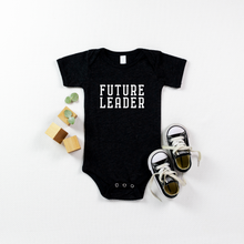 Load image into Gallery viewer, FUTURE LEADER ONESIE - Anchor & Nest