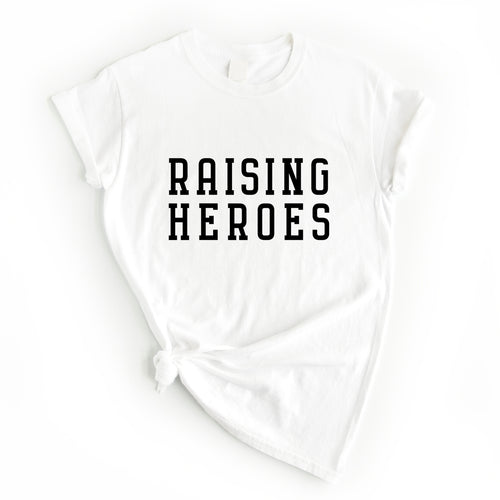 RAISING HEROES TEE - Anchor & Nest