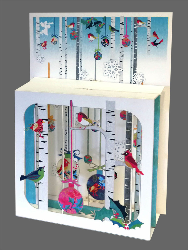 BX809 Birds and ornaments