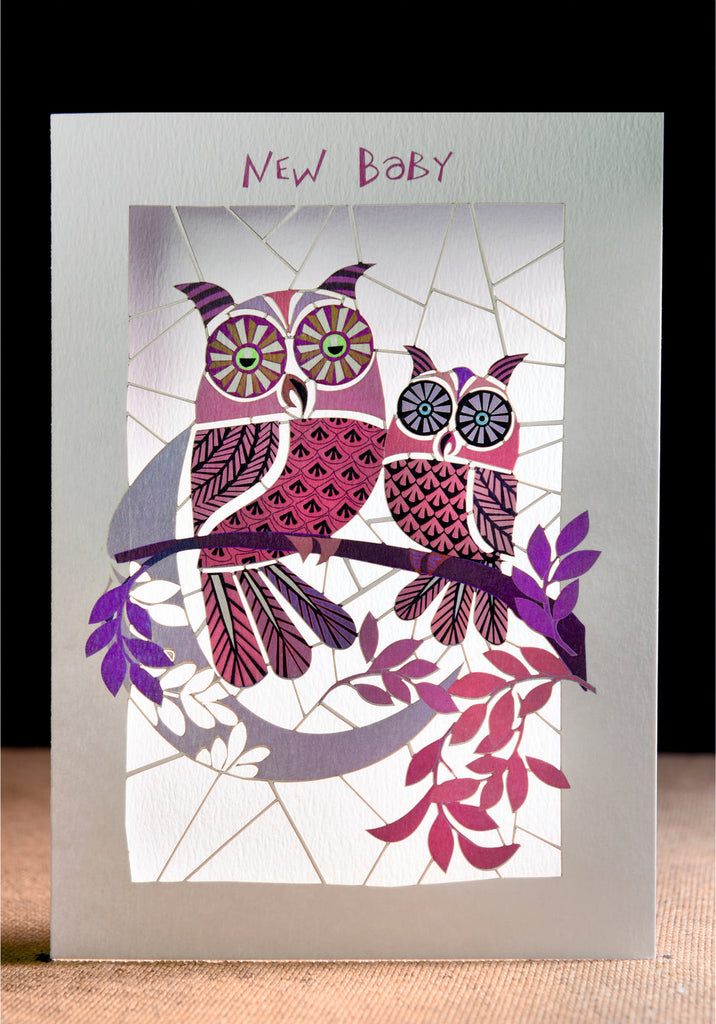 PM102- Baby girl owls