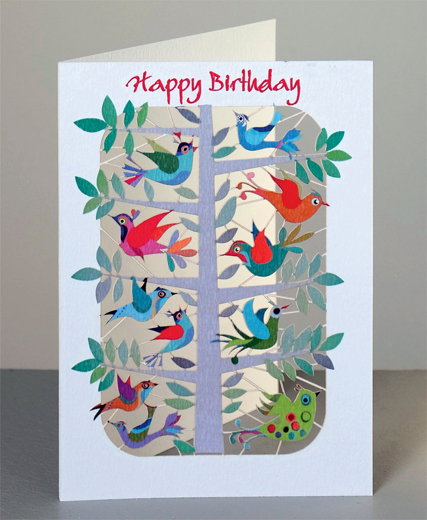 PM213- Birthday birds in tree