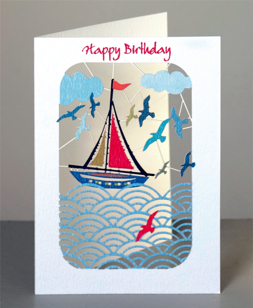 PM266- Birthday Sailboat
