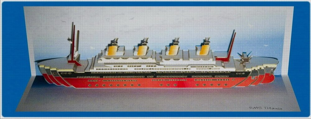 POP77 RMS Titanic