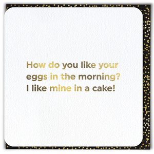 Greeting Card - Eggs in the Morning