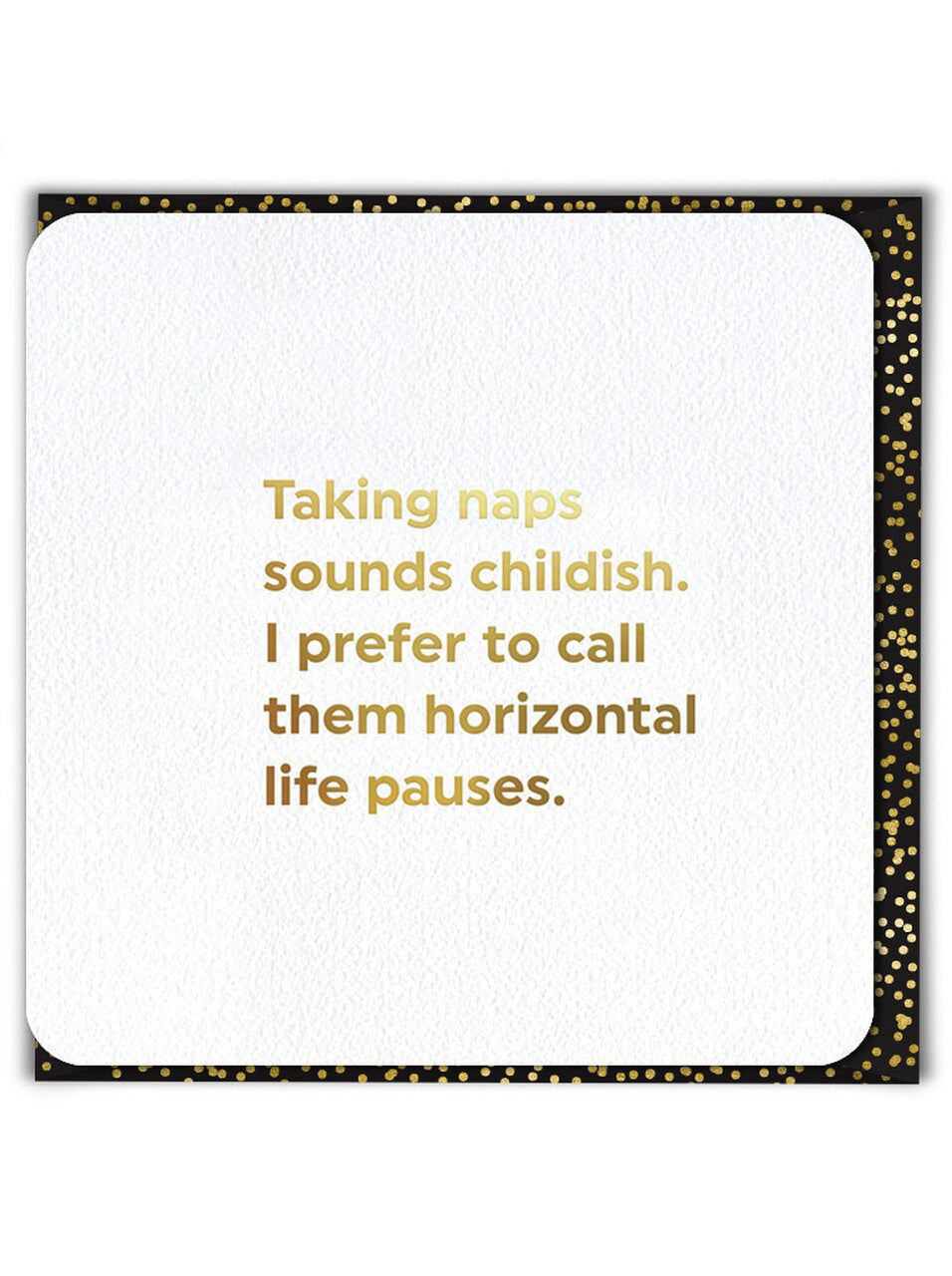 Greeting Card - Taking Naps