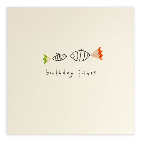 Greeting Card - Birthday Fishes