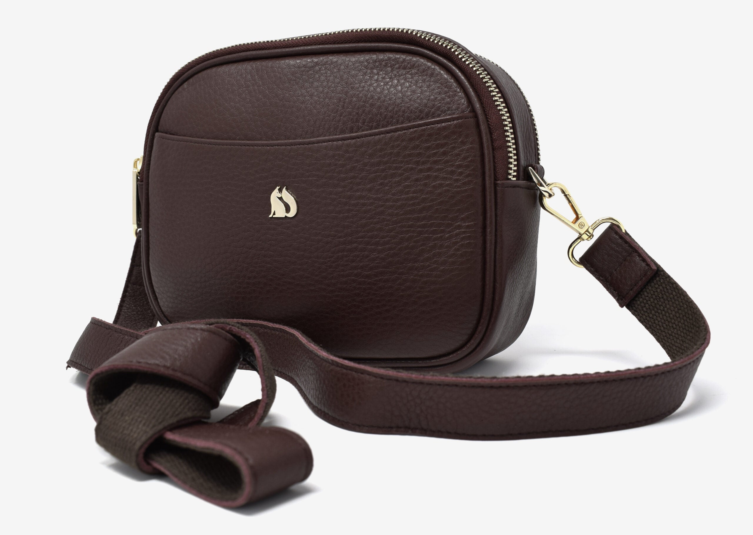Foxfield - Keswick Brown Leather Cross Body Bag