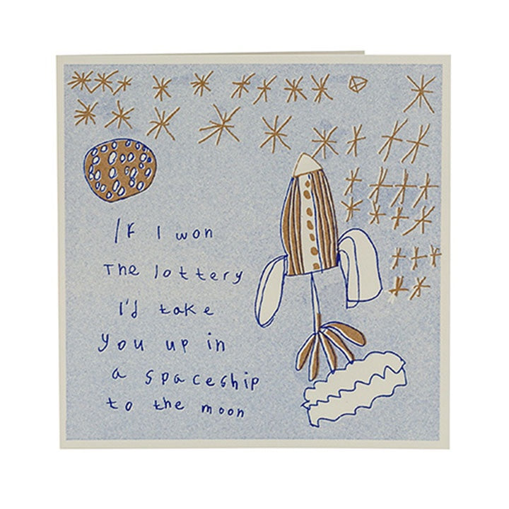 Greeting Card - If I Won The Lottery card