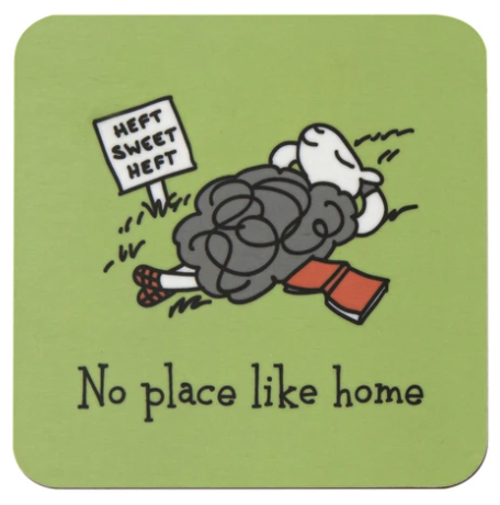 Herdwicks of the Lake District Coasters - No Place like Home