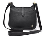 Load image into Gallery viewer, Foxfield - Appleby Black Leather Handbag