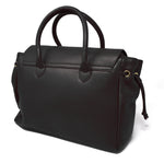 Load image into Gallery viewer, Foxfield - Hawkshead Black Leather Handbag