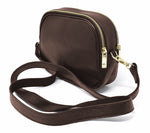 Load image into Gallery viewer, Foxfield - Keswick Brown Leather Cross Body Bag
