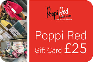 Poppi Red Gift Card