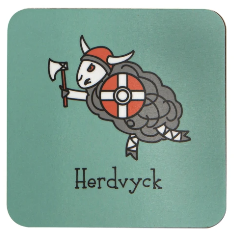 Herdwicks of the Lake District Coasters - Herdvyck