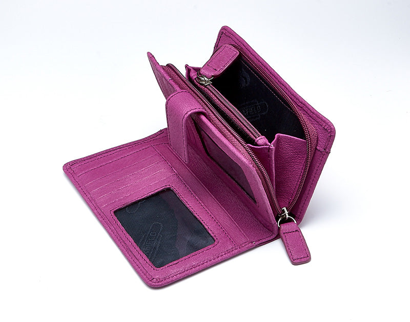 Foxfield Coniston Purse - P.N.C WITH  Flaps/Tabs