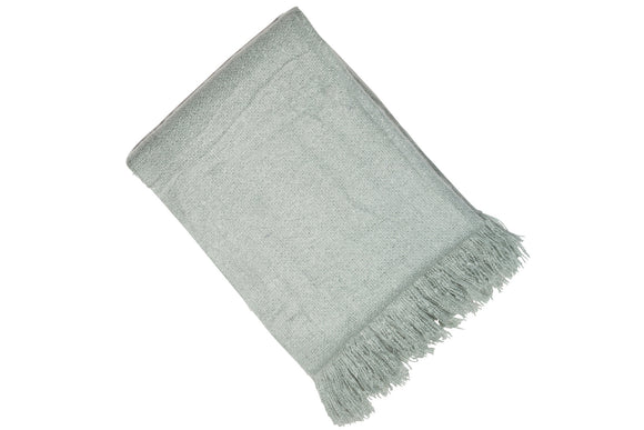 DEGG FAUX MOHAIR THROW