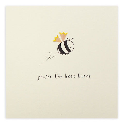 Greeting Card - Bees Knees
