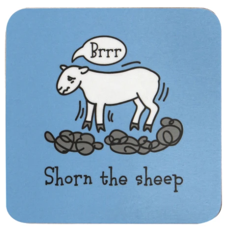 Herdwicks of the Lake District Coasters - Shorn the Sheep