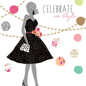 Greeting Card - Little black dress