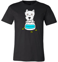 Antidepressant Westie Premium Fitted Men/Unisex T-shirt