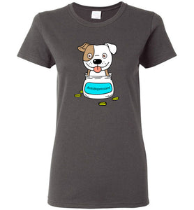 Antidepressant Staffy Classic Lady T-shirt