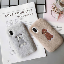 Schnauzer Plush Phone Case