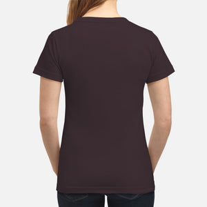 Westie Through The Snow  - Women's T-shirt